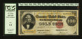 Large Size:Gold Certificates, Fr. 1214 $100 1882 Gold Certificate PCGS Fine 12....