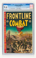 Golden Age (1938-1955):War, Frontline Combat #13 Gaines File pedigree 2/12 (EC, 1953) CGC NM+9.6 Off-white to white pages....