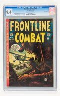 Golden Age (1938-1955):War, Frontline Combat #11 Gaines File pedigree 2/11 (EC, 1953) CGC NM 9.4 Off-white to white pages....