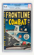 Golden Age (1938-1955):War, Frontline Combat #8 Gaines File pedigree 2/9 (EC, 1952) CGC NM 9.4 Off-white to white pages....