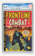 Golden Age (1938-1955):War, Frontline Combat #6 Gaines File pedigree 2/9 (EC, 1952) CGC NM+ 9.6White pages....
