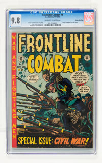 Frontline Combat #9 Gaines File pedigree pedigree 2/10 (EC, 1952) CGC NM/MT 9.8 Off-white to white pages