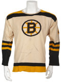 Hockey Collectibles:Uniforms, 1966-67 Bobby Orr Game Worn Rookie Jersey....