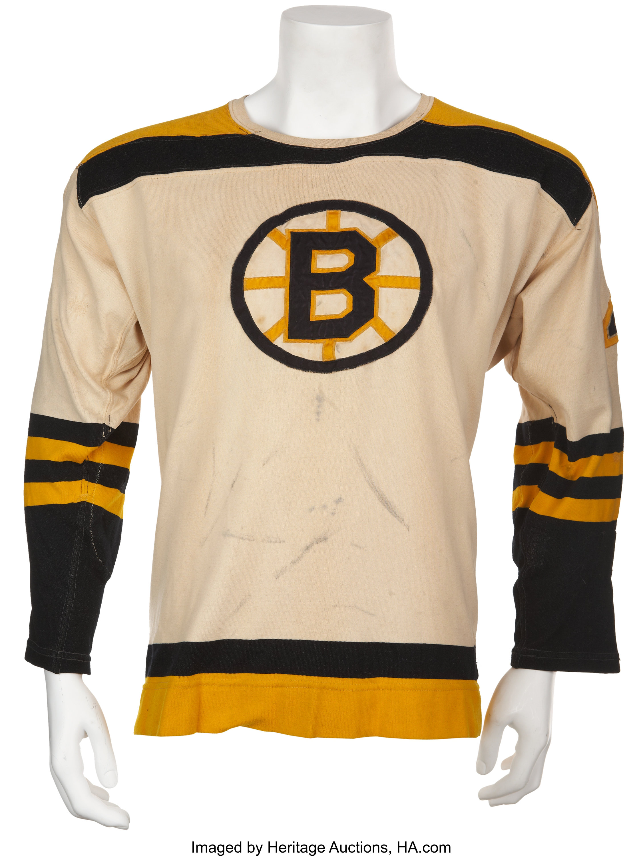 87addbe2b 1966-67 Bobby Orr Game Worn Rookie Jersey.... Hockey Collectibles | Lot  #82282 | Heritage Auctions