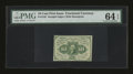 Fractional Currency:First Issue, Fr. 1242 10c First Issue PMG Choice Uncirculated 64 EPQ....