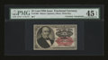 Fractional Currency:Fifth Issue, Courtesy Autograph Fr. 1309 25c Fifth Issue PMG Choice ExtremelyFine 45 EPQ....