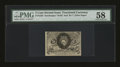 Fractional Currency:Second Issue, Fr. 1235 5c Second Issue PMG Choice About Unc 58....