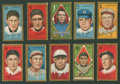 Baseball Cards:Lots, 1911 T205 Gold Border Tobacco Collection (10)....