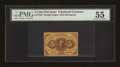 Fractional Currency:First Issue, Fr. 1230 5c First Issue PMG About Uncirculated 55....