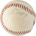 Autographs:Baseballs, 1970's Red Ruffing Single Signed Baseball, PSA/DNA EX-MT+ 6.5. ...