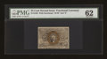 Fractional Currency:Second Issue, Fr. 1288 25c Second Issue PMG Uncirculated 62....