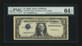 Error Notes:Inverted Third Printings, Fr. 1613 $1 1935D Silver Certificate. PMG Choice Uncirculated 64EPQ....
