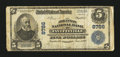 National Bank Notes:Arkansas, Fayetteville, AR - $5 1902 Plain Back Fr. 600 The Arkansas NB Ch. # 8786. ...