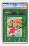 """Golden Age (1938-1955):Cartoon Character, Four Color #120 Marge's Little Lulu - Davis Crippen (""""D"""" Copy)pedigree (Dell, 1946) CGC VF 8.0 Off-white to white pages...."""