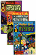 Bronze Age (1970-1979):Cartoon Character, Richie Rich Vaults of Mystery File Copies Group (Harvey, 1974-82)Condition: Average NM-.... (Total: 46 Comic Books)