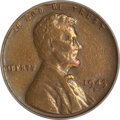 Lincoln Cents, 1943-S Cent--Struck on a Bronze Planchet--VF35 PCGS....