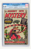 Silver Age (1956-1969):Superhero, Journey Into Mystery #83 (Marvel, 1962) CGC FN 6.0 Off-whitepages....