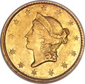 Gold Dollars, 1849-C G$1 Open Wreath XF45 NGC....