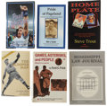 Baseball Collectibles:Publications, Baseball Signed Books Lot of 6....