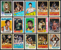 Basketball Cards:Lots, 1969-70 to 1988-89 Topps & Fleer Basketball Collection (393)Plus 1976-77 Wax Packs. ...
