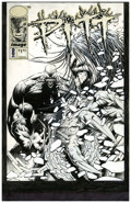 Original Comic Art:Covers, Dale Keown Pitt #8 Cover Original Art (Image, 1992)....