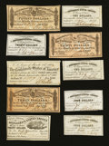 Confederate Notes:Group Lots, Ten Confederate Bond Coupons.. ... (Total: 10 items)