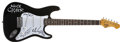 Music Memorabilia:Autographs and Signed Items, Alice Cooper Band-Signed Guitar....