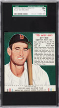 Baseball Cards:Singles (1950-1959), 1952 Red Man Tobacco Ted Williams #23 SGC 84 NM 7....