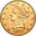 Liberty Eagles, 1852-O $10 AU53 PCGS....