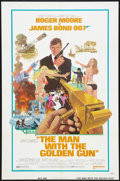 "Movie Posters:James Bond, The Man With the Golden Gun (United Artists, 1974). One Sheet (27""X 41""). James Bond.. ..."