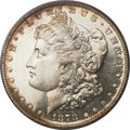 Morgan Dollars, 1878 7/8TF $1 Strong MS63 Deep Mirror Prooflike PCGS....