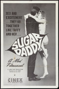 "Movie Posters:Sexploitation, Sugar Daddy (Cinex, 1968). One Sheet (26.5"" X 40.5"").Sexploitation.. ..."