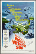 """Movie Posters:Documentary, World Without Sun (Columbia, 1965). One Sheet (27"""" X 41""""). Documentary.. ..."""