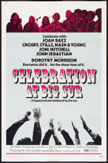 "Movie Posters:Rock and Roll, Celebration at Big Sur (20th Century Fox, 1971). One Sheet (27"" X 41"") and Lobby Cards (7) (11"" X 14""). Rock and Roll.. ... (Total: 8 Items)"
