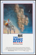 "Movie Posters:Adventure, The Right Stuff (Warner Brothers, 1983). One Sheet (27"" X 41"") andTitle Lobby Card (11"" X 14""). Adventure.. ... (Total: 2 Items)"