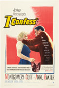 """Movie Posters:Hitchcock, I Confess (Warner Brothers, 1953). One Sheet (27"""" X 41"""").. ..."""