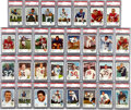 Football Cards:Lots, 1961 Fleer Football PSA Mint 9 Collection (31). ...