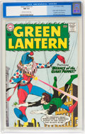 Silver Age (1956-1969):Superhero, Green Lantern #1 (DC, 1960) CGC NM 9.4 Off-white to white pages....