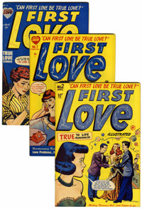 First Love Illustrated File Copies Box Lot (Harvey, 1949-63) Condition: Average VF.... (Total: 82 Comic Books)