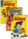 Silver Age (1956-1969):Humor, Playful Little Audrey File Copies Box Lot (Harvey, 1957-76) Condition: Average VF/NM....