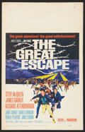 "Movie Posters:War, The Great Escape (United Artists, 1963). Window Card (14"" X 22"").War.. ..."