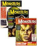 Magazines:Horror, Famous Monsters of Filmland and Others Box Lot (Warren, 1967-83) Condition: Average FN....