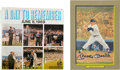 Baseball Collectibles:Others, Mickey Mantle Signed Perez-Steele Card and Record....