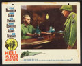 """Movie Posters:War, Hell Is for Heroes Lot (Paramount, 1962). Lobby Cards (3) (11"""" X14"""") and One Sheet (27"""" X 41""""). War.. ... (Total: 4 Items)"""
