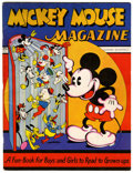 Platinum Age (1897-1937):Miscellaneous, Mickey Mouse Magazine #1 (K. K. Publications/ Western Publishing Co., 1935) Condition: FN+....