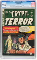 Golden Age (1938-1955):Horror, Crypt of Terror #19 Gaines File pedigree 6/11 (EC, 1950) CGC NM+9.6 Off-white to white pages....