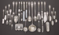 Silver Flatware, Continental:Flatware, A GERMAN SILVER FLATWARE SERVICE. H. Meyen & Co., Berlin, Germany, 20th Century. Marks: (crest) (crown) 800, (profile),... (Total: 332 Items)