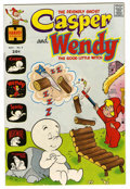 Bronze Age (1970-1979):Cartoon Character, Casper and Wendy #2 File Copy (Harvey, 1972) Condition: VF/NM....