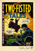 Original Comic Art:Miscellaneous, Harvey Kurtzman - Two-Fisted Tales #21 Cover Proof (EC, 1951)....
