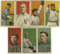 Baseball Cards:Lots, 1909-11 T206 White Border Group Lot of 7. Group of cards from thepopular tobacco card issue. Includes Lou Criger, Mike Don...